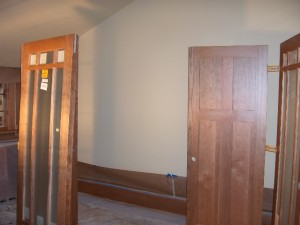 Solid Cherry Wood Interior Doors w/ 3 coats of Conversion Varnish