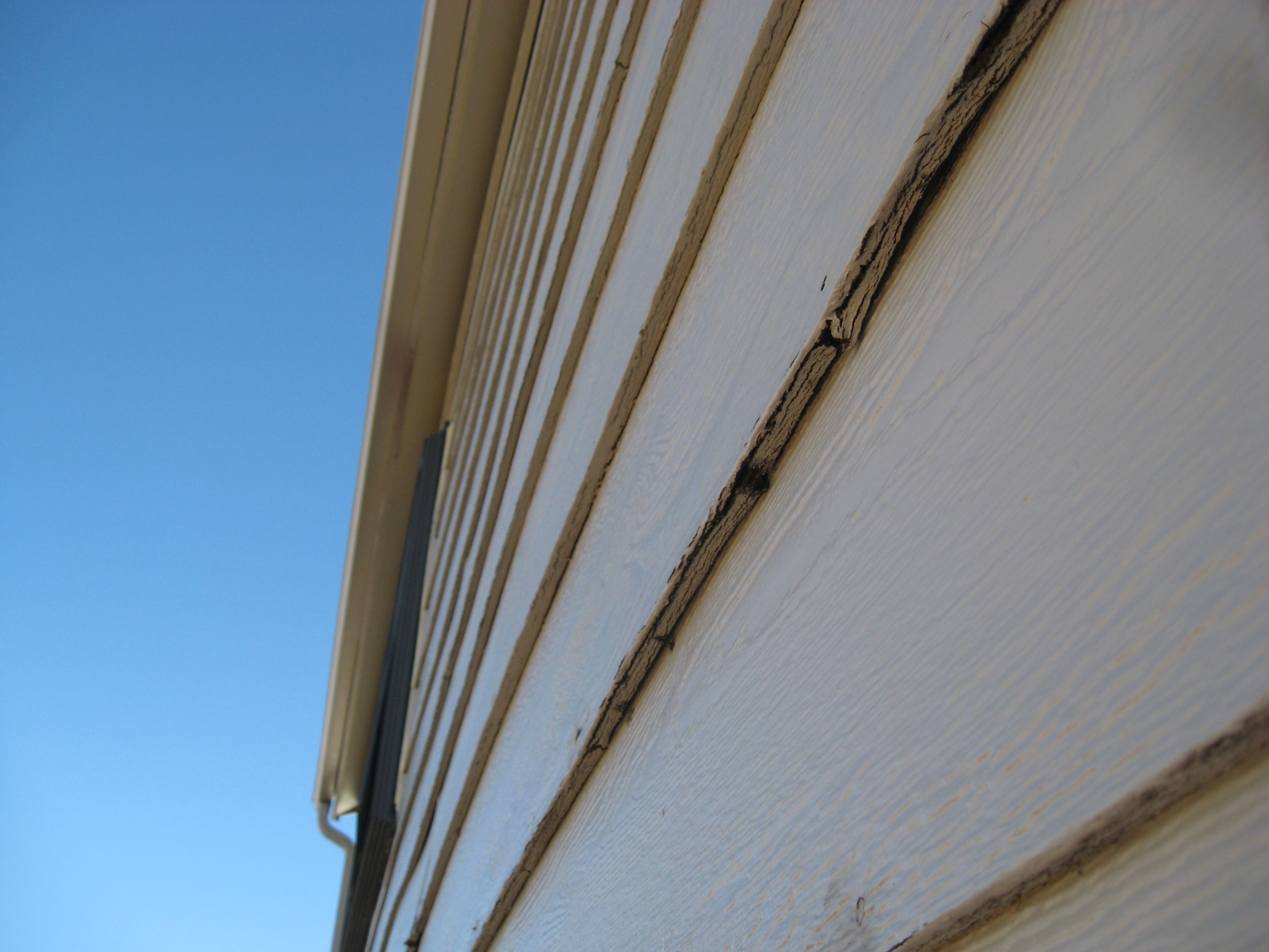 Painting exterior siding saves money eco paint inc for How to get paint off siding